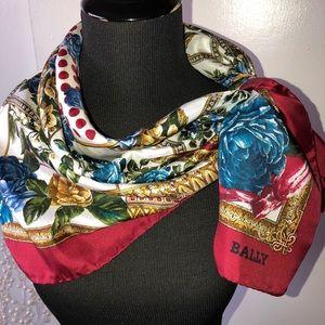 Exquisite Bally Silk Scarf